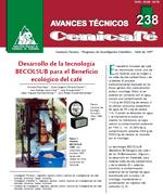 Desarrollo de la tecnología Becolsub para el beneficio ecológico del café