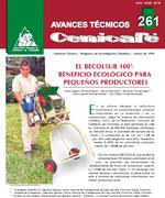 El Becolsub 100. Beneficio ecológico para pequeños productores