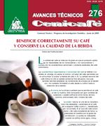 Beneficie correctamente su café y conserve la calidad de la bebida