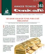 Secador solar de túnel para café pergamino