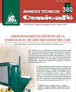 Aprovechamiento eficiente de la energía en el secado mecánico del café