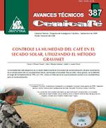 Controle la humedad del café en el secado solar, utilizando el método GRAVIMET