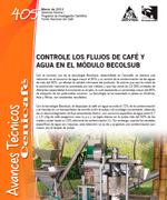 Controle los flujos de café y agua en el modulo Becolsub