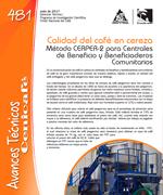 Calidad del café en cereza metodo CERPER-2 para centrales de beneficio y beneficiaderos comunitarios
