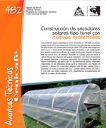 Construcción de secadores solares tipo túnel con nuevos materiales