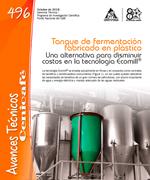 Tanque de fermentación fabricado en plástico, una alternativa para disminuir costos en la tecnología Ecomill