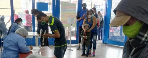 BIOSEGURIDAD EN PUESTO DE PAGO PARA RECOLECTORES DE MANIZALES