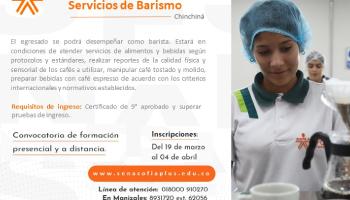 CHARLAS E INSCRIPCIONES A TÉCNICO EN BARISMO Y OTROS PROGRAMAS