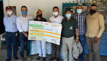 CONVENIO EN SUPÍA LLEVARÁ $2.138 MILLONES A LAS ZONAS CAFETERAS